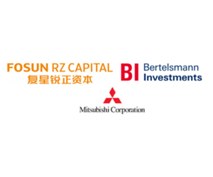 Fosun RZ Capital, Bertelsmann Investments, Mitsubishi Corporation